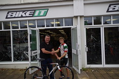 Sponsorship from Bike It Barnstaple
