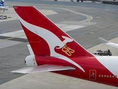 Socceroos! VH-OEJ (j3tdillo) Tags: sfo qantas 747400 qf 744 ksfo longreach