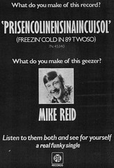 Mike Reid - April 1974 (rchappo2002) Tags: music cold records mike vintage magazine paper 1974 newspaper inch label 7 funky 45 retro single reid record 70s comedian 1970s seventies 74 sounds geezer rpm eastenders 89 cockney freezin pye prisencolinnesinaincuisol twoso