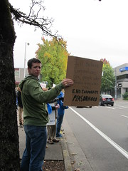 Occupy Eugene Protest October 13th 2011 (Phoenix Fyrewolf) Tags: people news oregon protest photojournalism eugene 2011 occupy journalisim