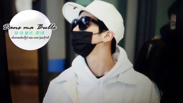160215 Jonghyun @ Aeropuerto de Incheon {Llegada a Corea} 25045497226_69aec938d7_z