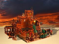 Lego Pueblo E2 (giorgio.chronas) Tags: arizona verde america mexico lego native pueblo western taos ideas acoma mesa zuni