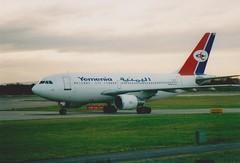 F-OHPR A310-214 YEMENIA (fletcher595) Tags: 2003 manchester airbus a310 yemenia fohpr a310214