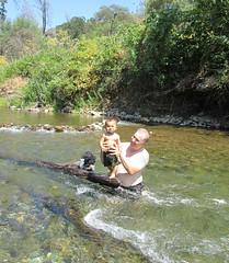 2012-07-14 15.00.07 (heatherbees) Tags: baby creek swim play jaden buttecreek