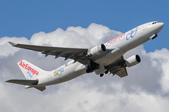 Air Europa Airbus A330 EC-KOM (j.borras) Tags: barcelona airplane europa air bcn airbus takeoff runway a330 spotting departing aea lebl eckom