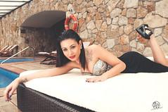 Tamara (rubenfcid) Tags: woman hot sexy pool girl beautiful beauty fashion lady hotel glamour pretty gente legs curves heels glam brunette elegant aire luxury libre curvas swimingpool
