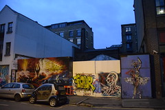 DSC_9848 Shoreditch London Street Art The Original Shakespeare Globe Theatre was built on this site in 1576 (photographer695) Tags: street original london art this was site globe theatre shakespeare shoreditch built the 1576