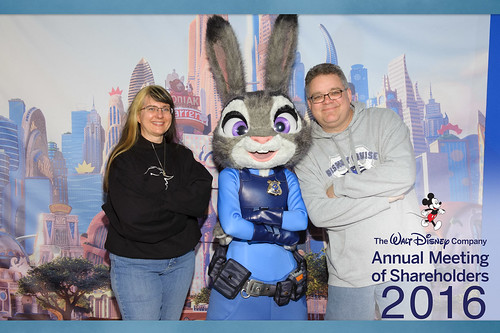 "2016 Disney Shareholder Meeting - Judy Hopps • <a style=""font-size:0.8em;"" href=""http://www.flickr.com/photos/28558260@N04/25332722260/"" target=""_blank"">View on Flickr</a>"