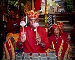Gamelan musicians . (Franc Le Blanc .) Tags: bali musicians lumix ceremony panasonic hindu gamelan kuta odalan