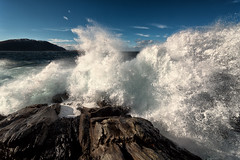 Dodging waves (Usstan) Tags: ocean sea sky seascape water norway clouds lens landscape norge drops spring nikon rocks day waves seasons wind outdoor no sigma wideangle d750 rough westcoast 1224mm harsh locations costal seaspray sunnmre mreogromsdal runde hery