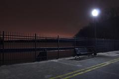 365-110 (• estatik •) Tags: park county new old bridge light orange mountain night bench washington streetlight long exposure glow 110 lakes nj fanny reservoir jersey 365 morris boonton intervale parsippany 3316 365110 march32016