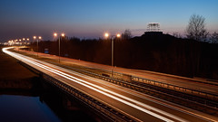High Speed (McQuaide Photography) Tags: road longexposure light motion holland cars netherlands dutch zeiss speed outside licht movement twilight lowlight highway europe traffic outdoor dusk widescreen sony tripod transport nederland panoramic le transportation lighttrails bluehour fullframe alpha 169 manfrotto noordholland schemering c1 beweging verkeer vervoer snelheid vijfhuizen carriageway 1635mm northholland a7ii phaseone variotessar spoed captureone mirrorless sonyzeiss n205 bigspottershill driemerenweg mcquaidephotography ilce7m2 captureonepro9