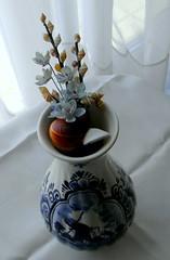 shades of blue (Dora 913) Tags: blue decorations vase
