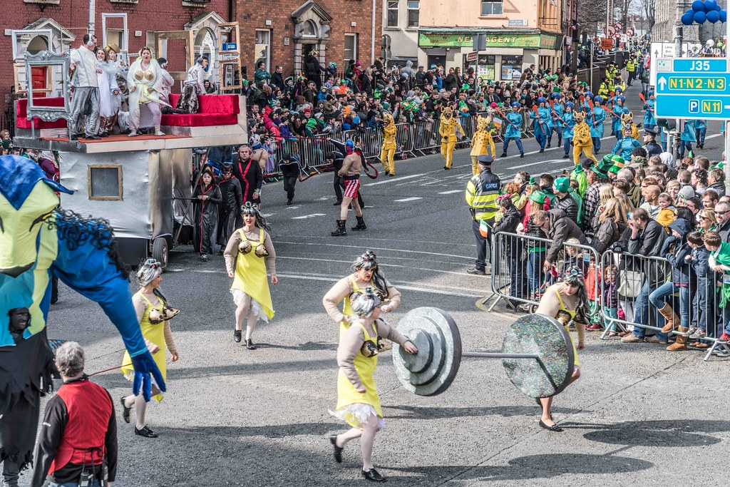 GAME ON BY CITY FUSION [DUBLIN 2016 PATRICK'S DAY PARADE]-112573