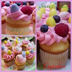 HAPPY EASTER!-Sweettonescupcakes (Sweet Tones Cupcakes) Tags: easter cupcakes strawberry chocolate cupcake raspberry stc chocolateeggs gourmetcupcakes sweettonescupcakes sweettonescc cupcakology