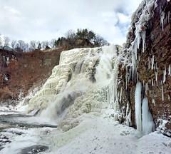 Frozen Waterfall (gnelg) Tags: cornell ithaca ithacafalls cornelluniversity