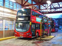 GAL WSD1 - SN64CTV - NSF - BX BEXLEYHEATH BUS GARAGE - SAT 27TH FEB 2016 (Bexleybus) Tags: bus london ahead kent garage go bexleyheath demonstrator bx goahead wrightbus streetdeck wsd1 sn64ctv