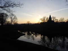 20160319_175851 (Thomas Larsen.) Tags: trees sky church water alberi backlight copenhagen denmark evening chiesa cielo cph acqua controluce kastellet danimarca