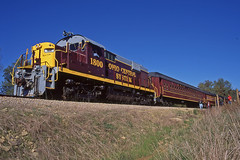 Striking Alco (craigsanders429) Tags: passengertrains passengercars rs18 excursiontrain alcolocomotives ohiocentralrailroad excursiontrains ohiocentralsystem ohiocentralapexbranch ohiocentral1800