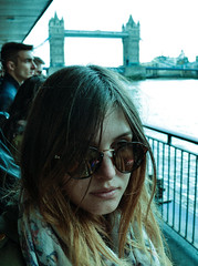 Weronika (Adanethel) Tags: world city greatbritain travel bridge portrait england woman london girl youth towerbridge river landscape nikon unitedkingdom britain young polish explore teen capitol journey teenager youngphotographers teenagephotographers