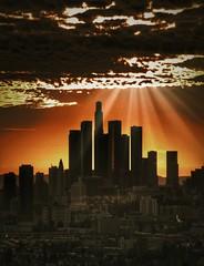 This little light of mine. #dtla #losangeles #LASkyline (adriannevarez) Tags: losangeles dtla laskyline