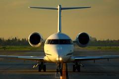 Bombardier CL600   N438E (j.scottsfolio) Tags: 6 plane airplane challenger bizjet cl600 ksjc corporatejet challenger604 n438e