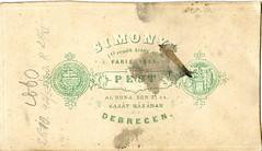 Simonyi, Pest, Debrecen (elinor04 thanks for 24,000,000+ views!) Tags: cdv pest debrecen 1860 simonyi simonyiantal