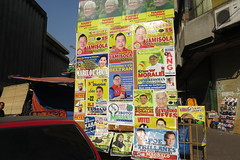 election posters (DOLCEVITALUX) Tags: outdoor philippines photojournalism posters manila elections