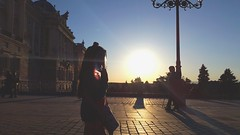 2016-04-26 02.30.16 (nickbruce483) Tags: madrid sunset people sun girl face walking spain europe palace tiny noon palacegardens