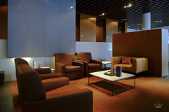 Lounge seating (A. Wee) Tags: germany airport frankfurt lounge terminal lufthansa firstclass fct