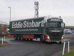 Eddie Stobart, H4172 Chloe Olivia [KX15OAL] - Stobart Depot, Carlisle (21/01/16)