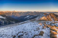 HDR -4 (billlushana1) Tags: sunset mountain snow rock canon landscape outdoor sony taiwan  peaks  taroko hualien  tarokonationalpark  superwide hehuanshan  ef1740mmf4lusm  mountain 14 100peaksoftaiwan taiwantop100peaks qilaishan sonya7r