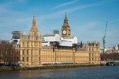 Palace Of Westminster | TLC (James_Beard) Tags: london thames sony landmarks housesofparliament parliament bigben blueskies palaceofwestminster elizabethtower sonydscr1