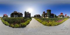 Dubai Miracle Garden Panorama (jeglikerikkefisk) Tags: panorama dubai uae 360 sphericalpanorama vae kugelpanorama sphrischespanorama dubaimiraclegarden