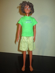 Rafe Kono (larry_boy17) Tags: boyfriend dreadlocks doll dolls sandals ken barbie tshirt shorts browneyes biracial dreads rare takara ralph licca rafe htf lica hsm highschoolmusical 16scale