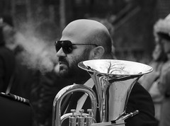 D7K_1520_epgs (Eric.Parker) Tags: street bw toronto college church easter christ jesus palm christian christianity procession littleitaly stfrancis stationsofthecross assisi brassband goodfriday stfrancisofassisi 2016