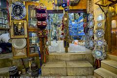 Wall decorations at Bazaar-e Vakil (T   J ) Tags: iran fujifilm shiraz xt1 teeje fujinon1024mmf4