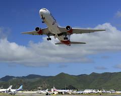 Air Canada Rouge B767 ~ C-FJZK ( Freddie) Tags: rouge sunsetbeach boeing stmaarten maho sxm sintmaarten aircanada b767 mahobeach princessjulianainternationalairport b763 dutchcaribbean sxmtncm thefriendlyisland fjroll cfjzk