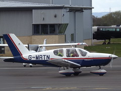 G-MRTN Socata Tobago TB-10 (Aircaft @ Gloucestershire Airport By James) Tags: james airport gloucestershire lloyds tobago tb10 socata egbj gmrtn