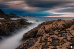 El Pocillo (Caramad) Tags: longexposure sunset sea seascape water marina landscape mar agua rocks puestadesol olas rocas cantabria castrourdiales wate marcantbrico elpocillodelosfrailes fsuro