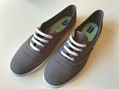 It's time for summer shoes #keds (slo.jean) Tags: wet holes used dirt worn torn trashed keds