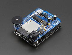 Adafruit Wave Shield for Arduino Kit - v1.1 (adafruit) Tags: 94 electronics kits audio shields arduino adafruit waveshields