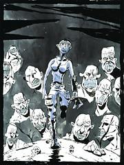 MAD MAX FURY DRAW - Nicol Storai (Sugarpulp) Tags: comics tribute fumetti madmax illustrazione sugarcon sugarpulp sugarpulpconvention