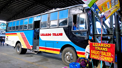 Lizardo Trans 009 (III-cocoy22-III) Tags: city bus station compound philippines terminal aurora baguio trans 009 baler slaughterhouse lizardo