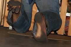 dirty party feet 542 (dirtyfeet6811) Tags: feet barefoot soles dirtyfeet partyfeet dirtysoles
