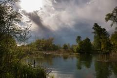 Am Inn Aulandschaft  mit Aprilwetter (fuchs_ernst) Tags: nikon wolken sonne weitwinkel aulandschaft