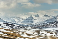 Fljotin Iceland (Einar Schioth) Tags: sky cliff cloud mountain snow mountains ice nature sunshine clouds canon landscape photo iceland spring day outdoor ngc picture sland nationalgeographic skagafjordur fljtin einarschioth fljotin