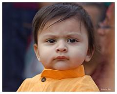 Basanta Utsav 2016#5 (Anindya Roy Photography (catching up)) Tags: boy portrait india canon child holi kolkata basantautsav