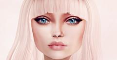 Client work (Netau) Tags: pink portrait face photoshop effects eyes makeup ps lips sl secondlife portret gen effect slportrait slface moonhair genesislab