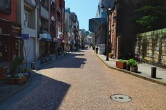 Holland Street (jpellgen) Tags: street travel holland church dutch japan architecture easter japanese march spring european catholic sigma christian  nippon christianity nagasaki nihon nationaltreasure  2016  oura  1770mm kushu ourachurch tenshudo d7000 orandadori